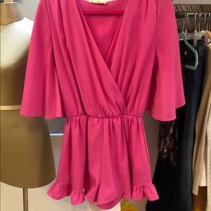 Altar'd State Pink Romper Small